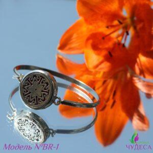 Аромабраслет — цветок пятилистный