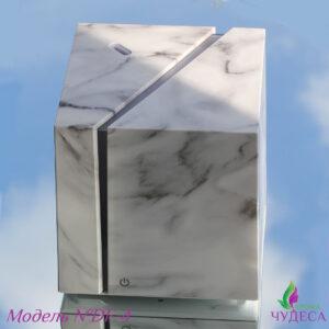 Ультразвуковой аромадиффузор «Мраморний куб»