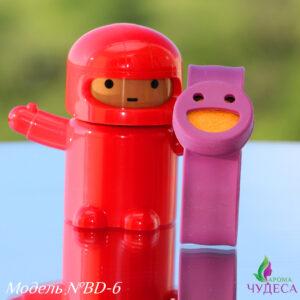 Детский самозакрепляющийся аромабраслет - фиолетовый