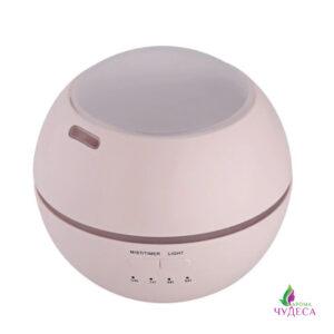 Розовый ультразвуковой аромадиффузор