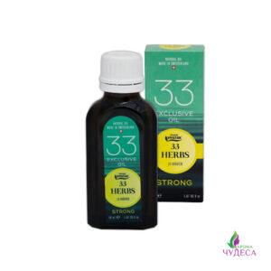 Эфирное масло 33 травы (Strong)