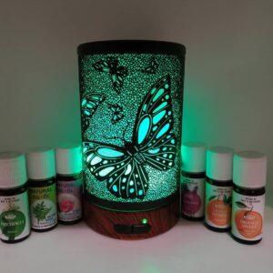 Ультразвуковой аромадиффузор - большая бабочка