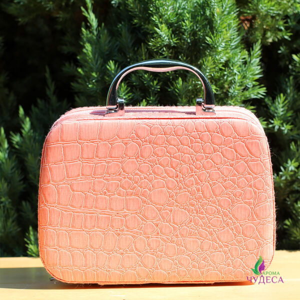 Розовая сумочка для эфирных масел