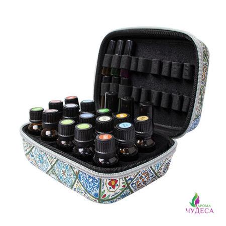 Узорчастый чемоданчик для эфирных масел