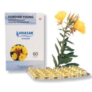 Молодость навсегда/Forever Young (масло энотеры с витамином Е в капсулах) Вивасан
