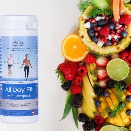 Бодрость на весь день/All Day Fit (витамины A-Z компакт в таблетках) Вивасан