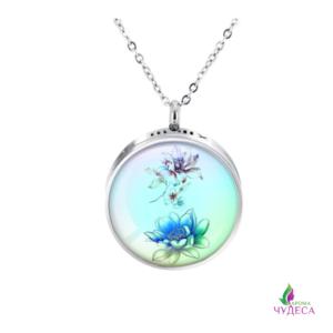 Яркий аромакулон – голубой лотос