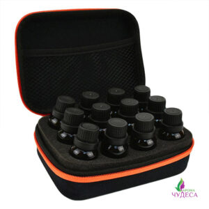Черный органайзер для  12 эфирных масел