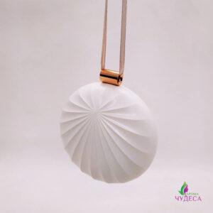 Портативный переносной аромадиффузор - ракушка (розовый)